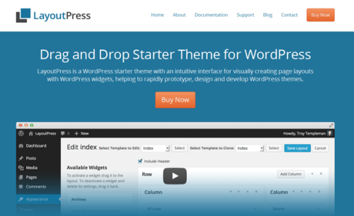 LayoutPress: A Drag & Drop Starter Theme for WordPress