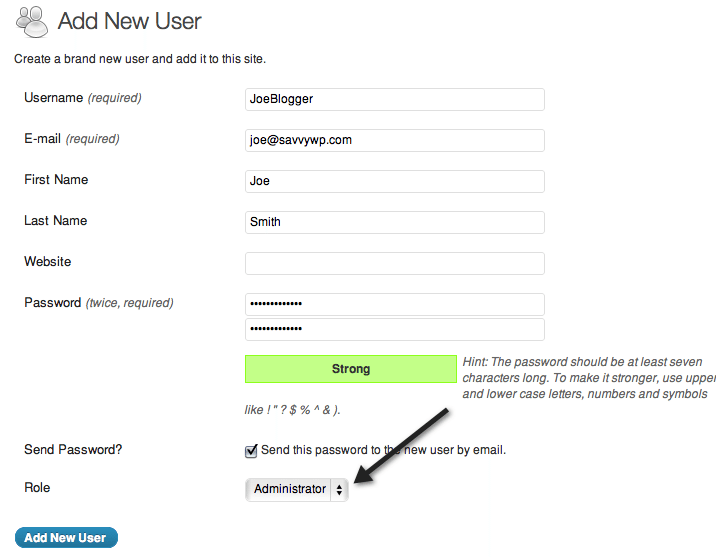 How To Delete Your Default Admin User Name Safely