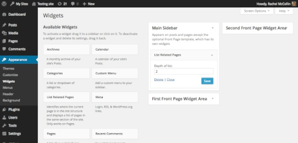 Building the Form for Your WordPress Widget
