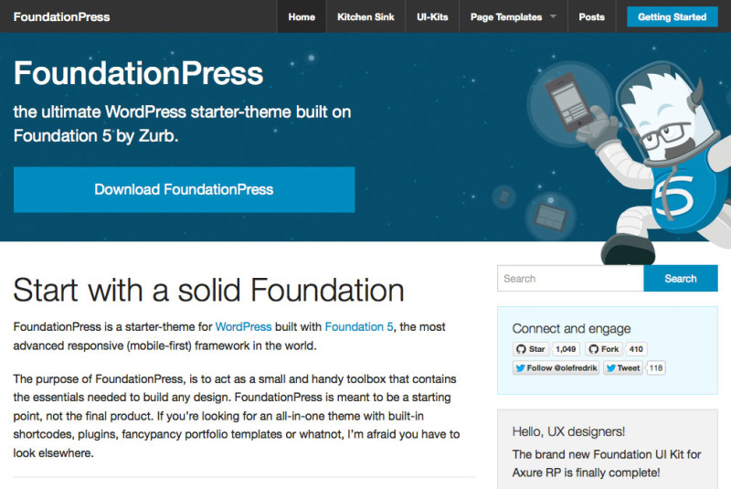 Getting Started with Foundation and WordPress