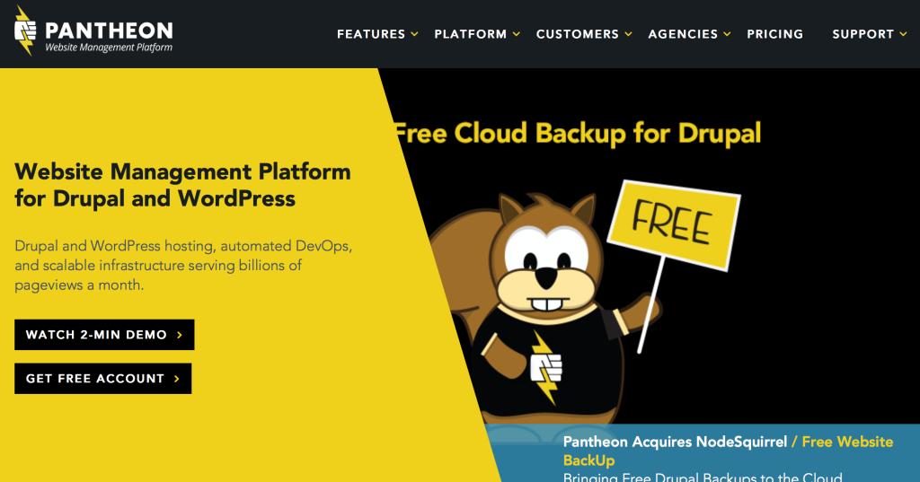 Hosting Spotlight: Pantheon Website Management Platform