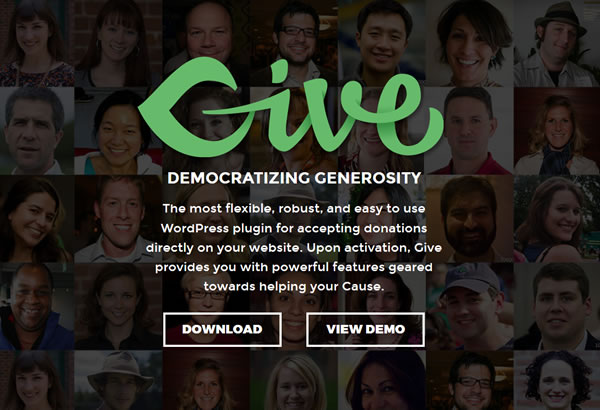Give – a WordPress Donation Plugin