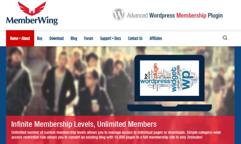 Membership Plugin Review: MemberWing-X