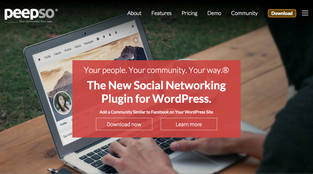 PeepSo – The Social Networking Plugin for WordPress