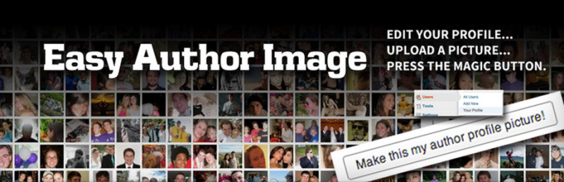 Upload Custom User Profile Photos With The Easy Author Image Plugin For WordPress