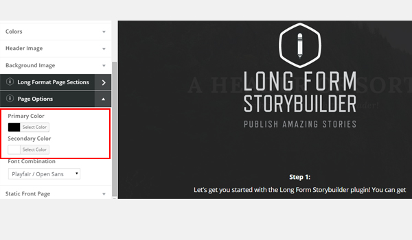 How to Use the Long Form Storybuilder Plugin for WordPress