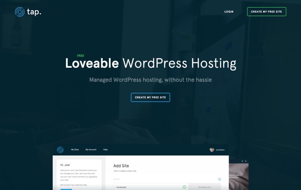 Tap Managed WordPress Hosting