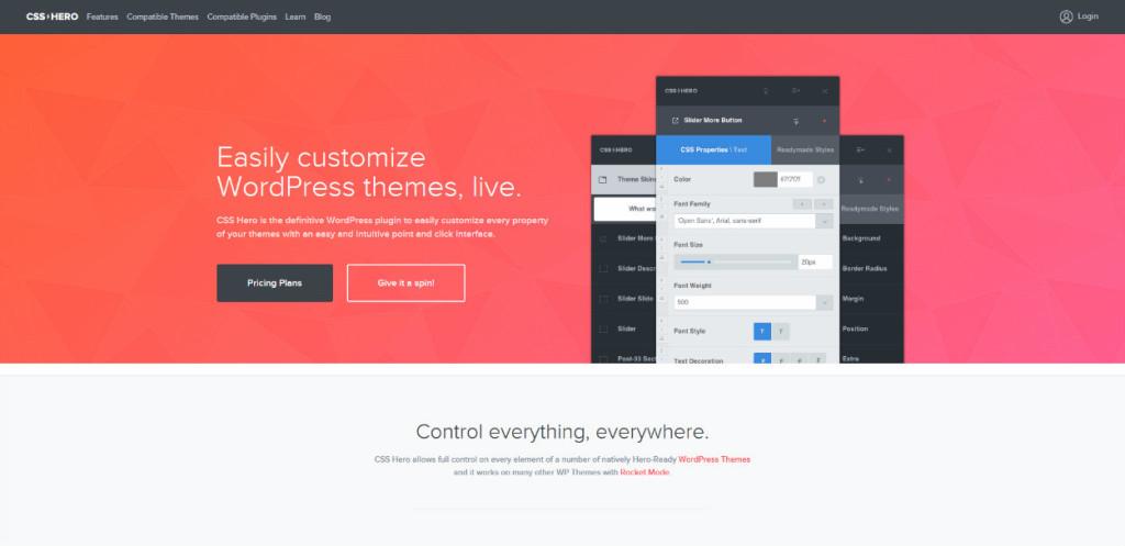 CSS Hero Review: WordPress Theme Customization Made Easy!