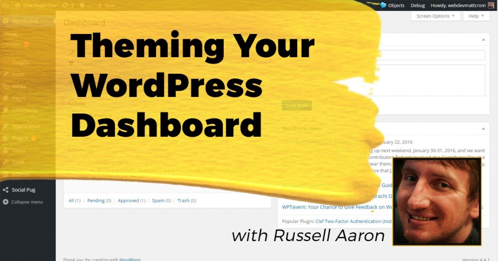 Theming Your WordPress Dashboard: Duplicate, Reorder & Exclude Custom Post Types