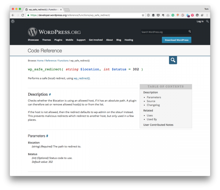 Safely Perform a WordPress Admin Redirect