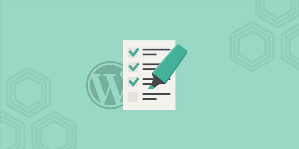 WordPress SEO Checklist – 45 Tips for 2017
