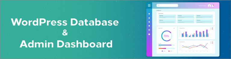 Banner of Category WordPress Database & Admin Dashboard